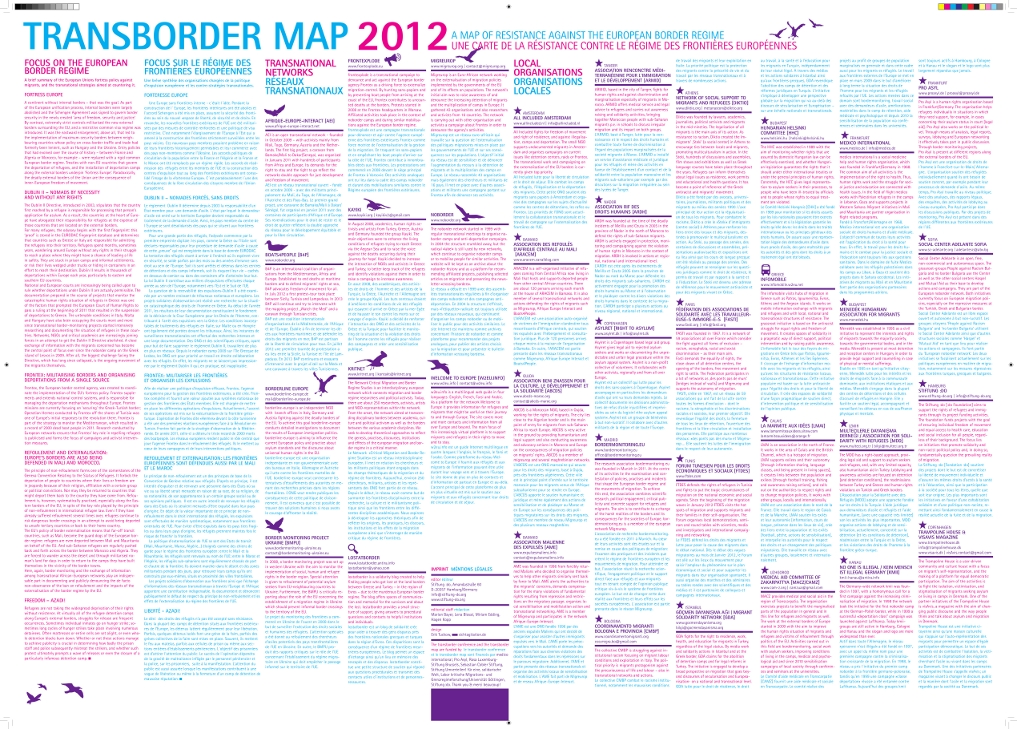 Transborder Map back