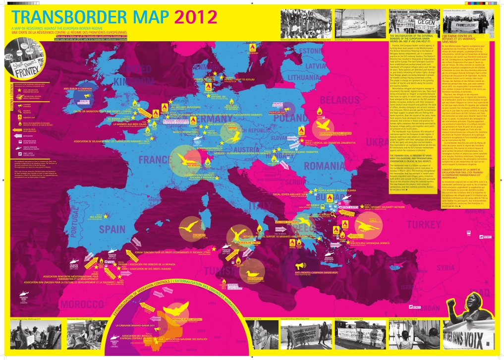 Transborder Map Front